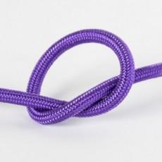 Провод в тканевой оплетке фиолетовый
