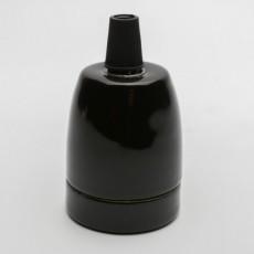 Патрон керамический черный