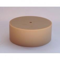 Потолочный крепеж силиконовый кофейный