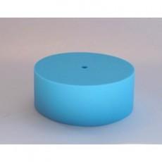 Потолочный крепеж силиконовый голубой