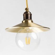Подвесной светильник PikArt 610-2 золотая патина