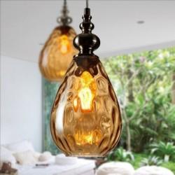 Подвес Shoploft Glass Amber D16 H27см (2362)